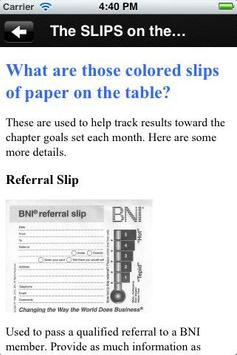 BNI Prosper screenshot 1