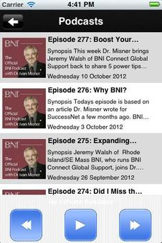BNI Prosper screenshot 2