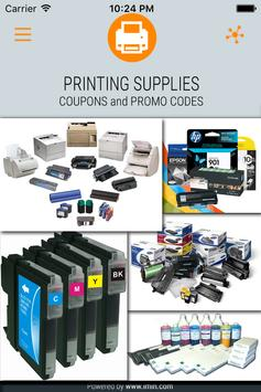 Printing Supplies Coupons-ImIn poster