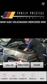 Purely Prestige Automotive poster
