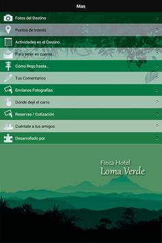 Finca Hotel Loma Verde apk screenshot