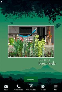 Finca Hotel Loma Verde poster