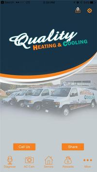 Quality Heating & Cooling poster