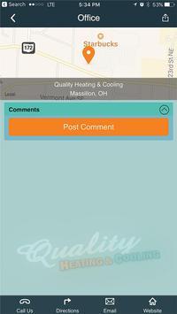 Quality Heating & Cooling screenshot 1