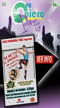 Yo Quiero Party poster