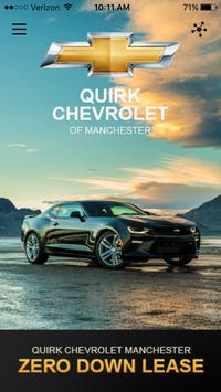 QUIRK -Chevrolet Manchester NH poster