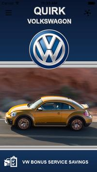 QUIRK - Volkswagon poster