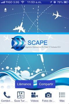 Agencia de viajes Scape poster