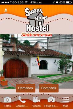 Sweet Home Hostel poster