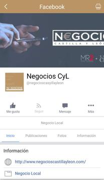 Revista Negocios screenshot 2