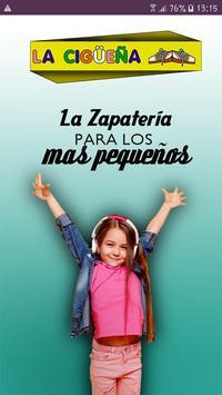 Zapatería la Cigüeña Poster
