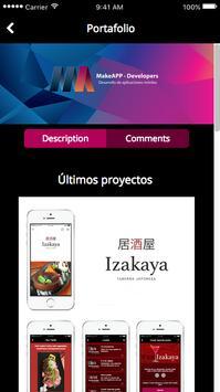 MakeApp mobi apk screenshot