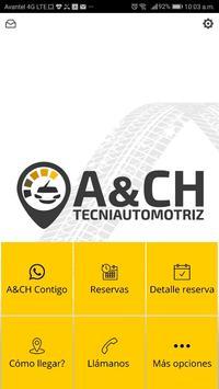 A&CH Tecniautomotriz poster