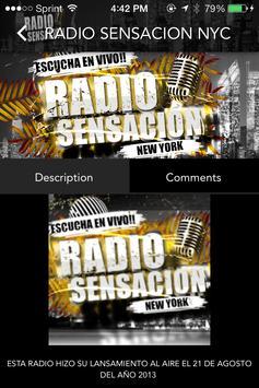 Radio Sensacion Nyc screenshot 3