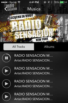 Radio Sensacion Nyc screenshot 1