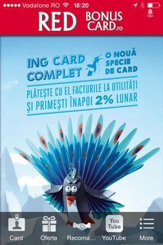 Red Bonus Card poster