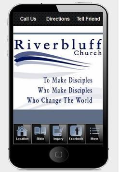 Riverbluff Church poster