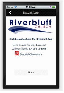 Riverbluff Church apk screenshot