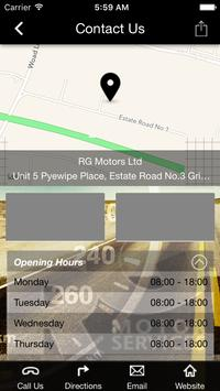 RG Motors apk screenshot