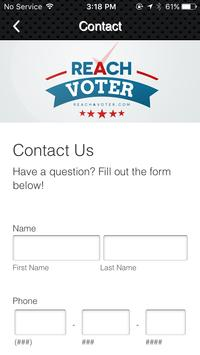 Reach A Voter screenshot 2