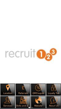 Recruit 123 poster