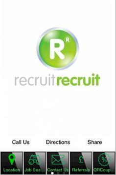 Recruit Recruit poster