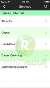 Recruit Recruit apk screenshot