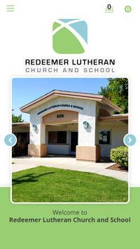 Redeemer Lutheran Church and School poster