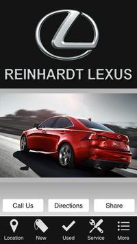 Reinhardt Lexus poster
