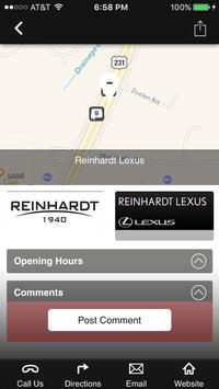 Reinhardt Lexus apk screenshot