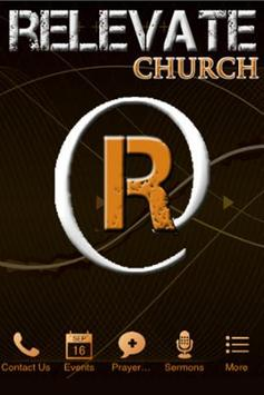 Relevate Church App poster