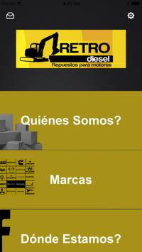 Retro Diesel poster