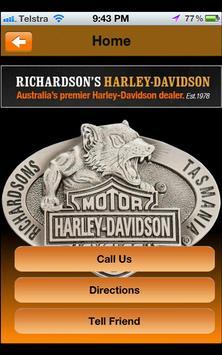 Richardsons Harley Davidson poster