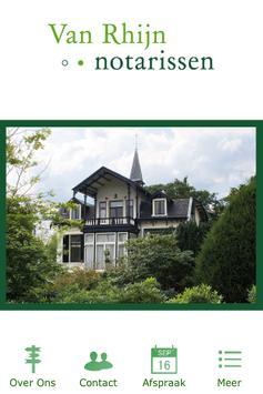 Van Rhijn Notarissen poster