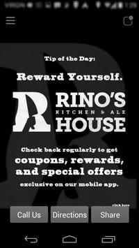 Rino's Kitchen and Ale House screenshot 1