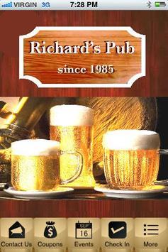 Richard's Pub Edmonton poster