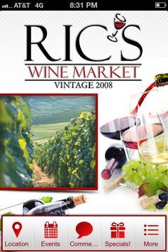 Ric's Wine Market poster