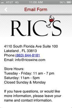 Ric's Wine Market apk screenshot