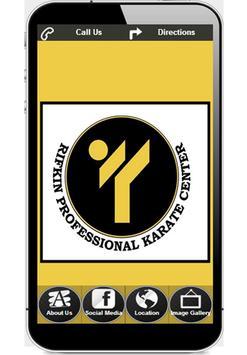 Rifkin Professional Karate poster