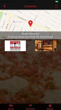 Rizzo's Fine Pizza Co. NYC screenshot 2