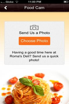 Roma's Deli apk screenshot