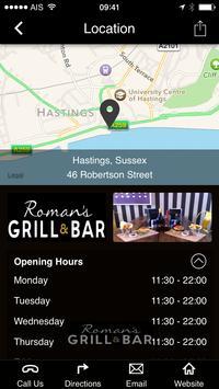 Romans Grill and Bar UK screenshot 6
