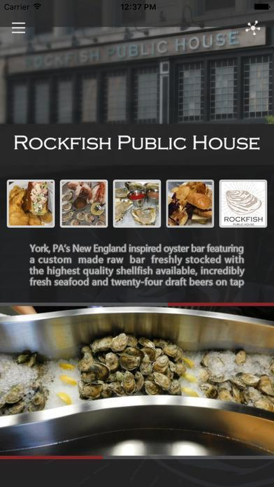 Rockfish Public House poster