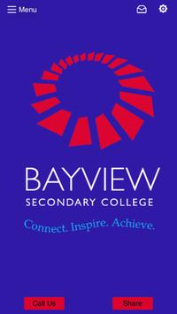 Bayview Secondary College poster