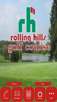 Rolling Hills Golf Course poster
