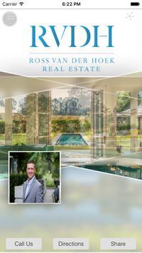 Ross Van Der Hoek -Real Estate poster