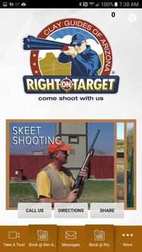 Right On Target Clay Guides AZ poster