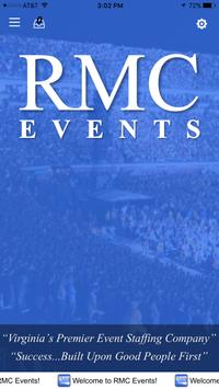 RMC Events poster