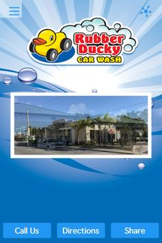 Rubber Ducky Car Wash poster