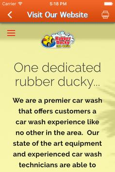 Rubber Ducky Car Wash screenshot 2